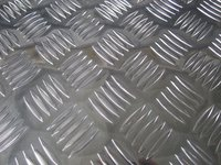 A5052 H14 5 bar embossed aluminum tread plate
