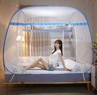 King Queen Circular Double Mosquito Net Bed Canopy