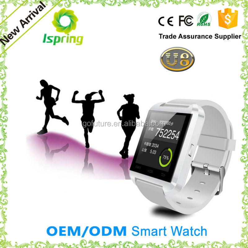 China Manufacturer Android Smart Watches Bluetooth4.0 3G WiFi Smart Watches OEM