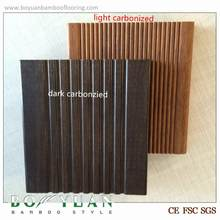 Brand BOYUAN Factory High quality dark color outdoor strand woven bamboo decking