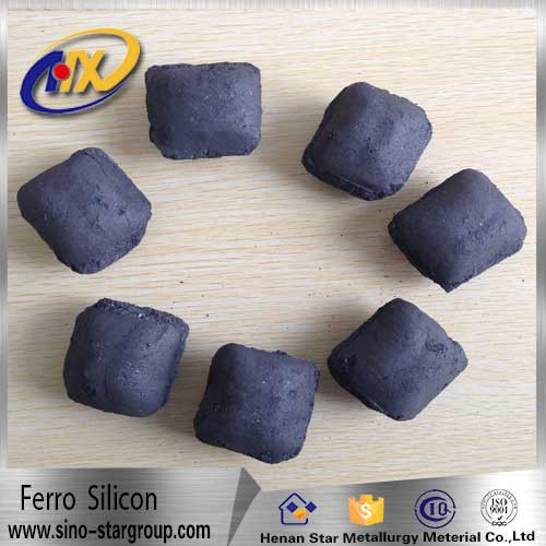 silicon briquette used in nodular cast iron silicon briquette si/ferrosilicon ball