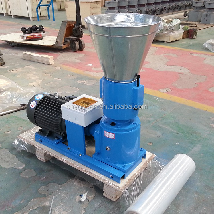 Low consumption and high productivity wood pellet machines