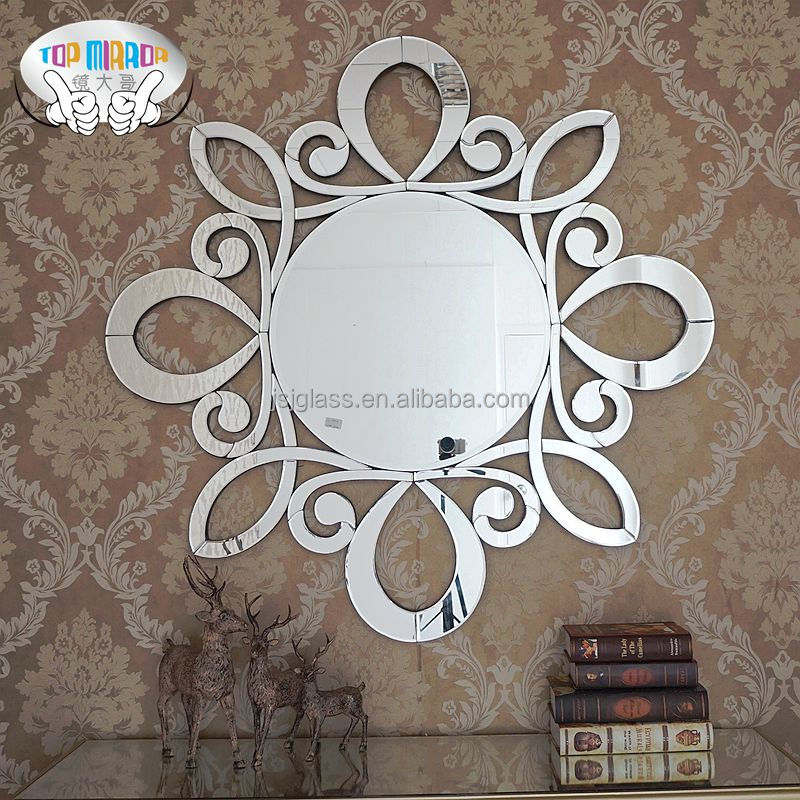 Home wall mirror decoration cheap china mirror factory