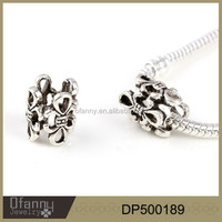 Alloy pierced beads accessories bracelet ornament women jewelry