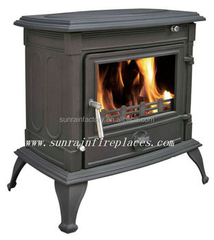 cast iron multi fuel wood coal burning stove