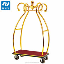 201steel hand hotel cart,customized in factory