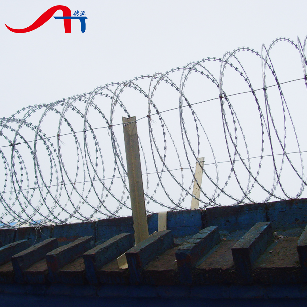 Low Price Concertina Razor Barbed Wire Coil, Low Price Concertina ...