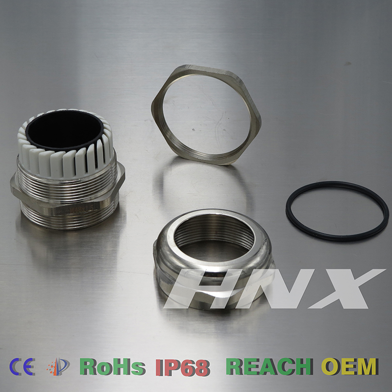 HongXiang MOQ Easy handling Brass small cable gland