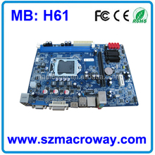 Beat price lg mainboard H61 made in china