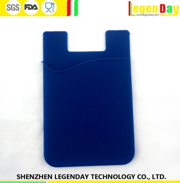 China Supplier silicone phone mobile sticky smart pocket