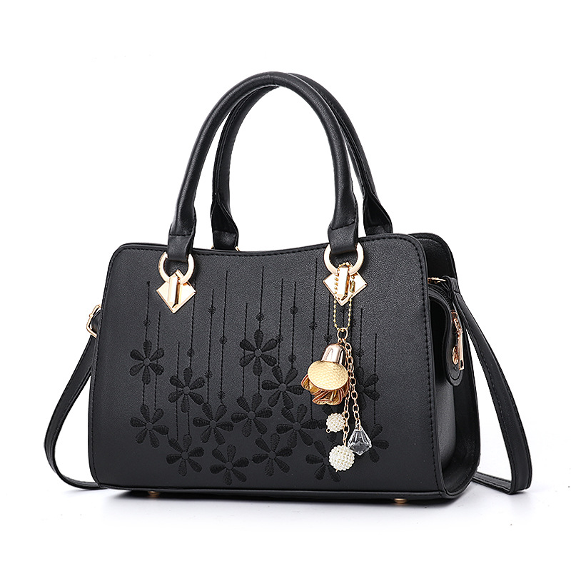 Wholesale embroidered shoulder bag handbag Europe and the United States trend casual handbag