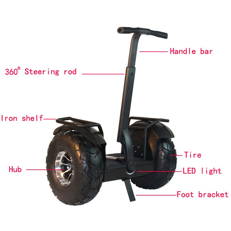 Leadway self balancing battery for electric golf cart scooter bars(W6L-14a)
