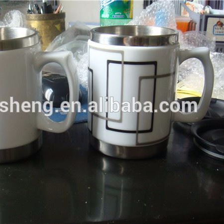 wholesales new products ceramic coffee cup/stainless steel coffee cup