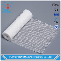 YD80088 High Absorbent Non Elastic Cotton Gauze Rolled Bandage