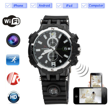 720P HD P2P Wifi IP Camera watch Hidden Camera Motion Activated Video Recorder Security DV for Android IOS APP Remote Cam PQ268