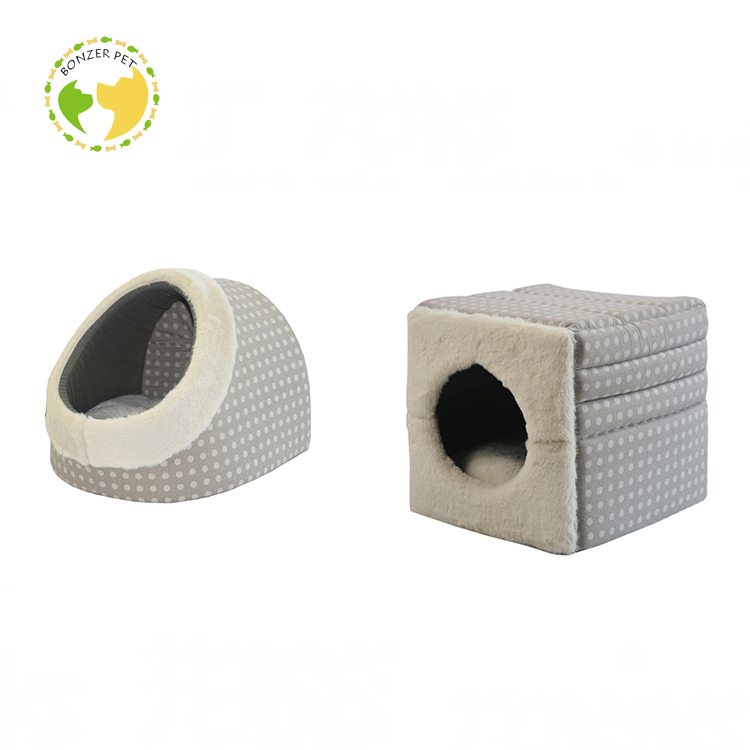Detachable Hamburger Pet House/Dog Beds/Cat Beds Leather Disposable Dog Bed Covers