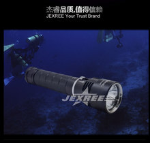 swat flashlight 100m underwater led diving flashlight