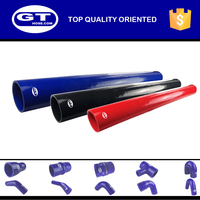 CH8 good performance auto parts straight silicone rubber coolant hose