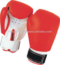high quality PU leather boxing gloves