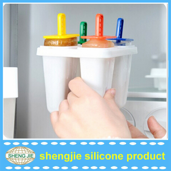 2015 Hot Summer Silicone Ice Cream Pop Molds Ice makers For Home Using
