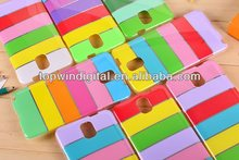 Hot Selling Rainbow TPU Case for Samsung Galaxy Note 3 Cute case