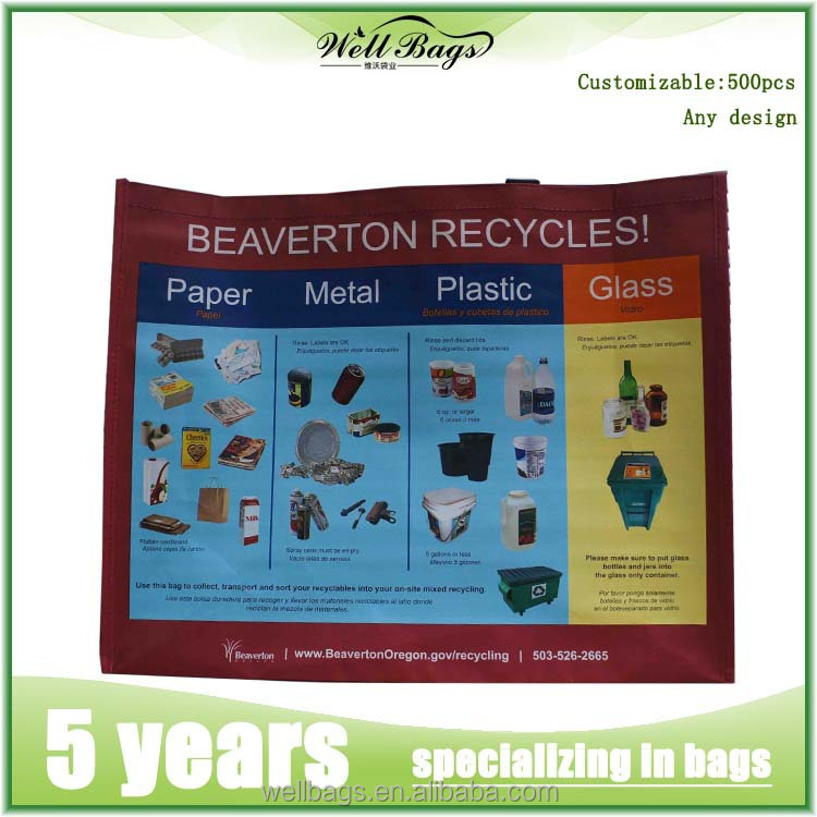 Cheap custom reusable foldable laminated pp non woven bag shopping bag