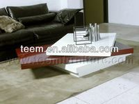 2014 modern interior furniture rechargeable led coffee tables T-54B