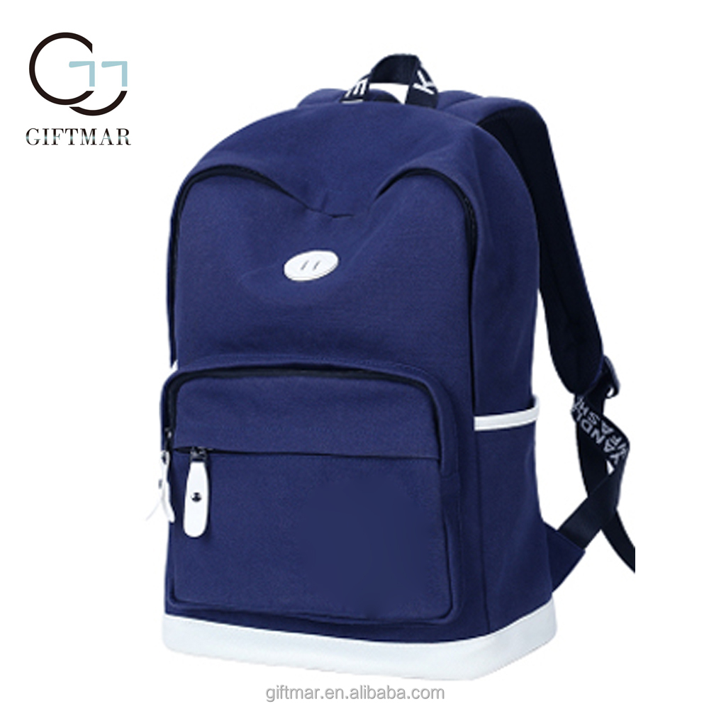 canvas backpack middle school students school bag for adolescent