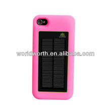 Iphone Solar Charger 2400mAH 5V 1A Enerplex Solar Charging Battery Case for the iPhone 4 and 4S solar bettery case