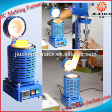 JC Plastic Gold Metal Aluminum Copper Melting Machine