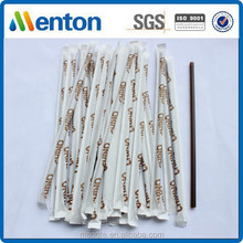 bar plastic custom printed paper drinking straw
