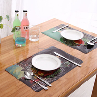 table mats China supplier pp laser 2016 New technology laser non-woven fabric place mat