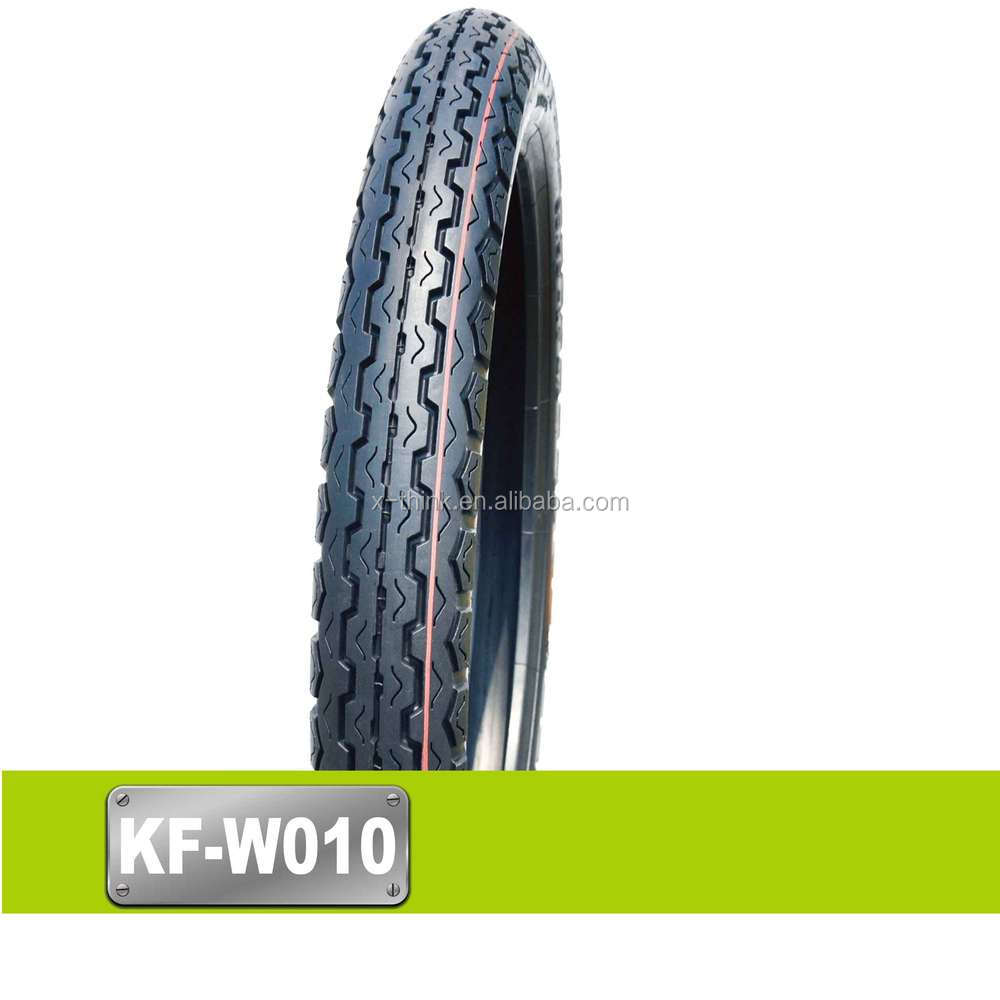Good quality ISO9001:2008 china duro motorcycle tire manufacturer 80 100 17