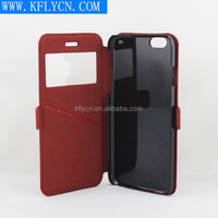 oem and odm designed phone case flip lether case for iphone 6 for iphone 5