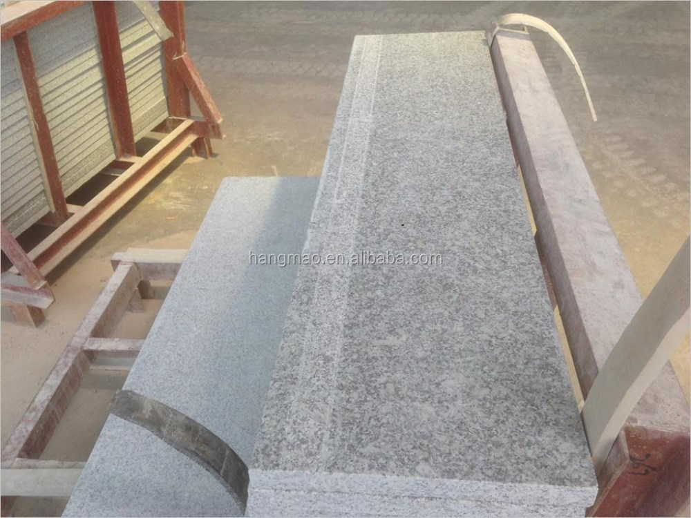 Cheap bush hammered finish grey rough granite tiles