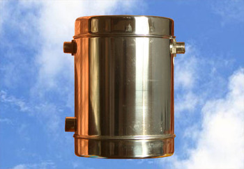 Strong power water feed tank assistant tank small tank for Copper water tank