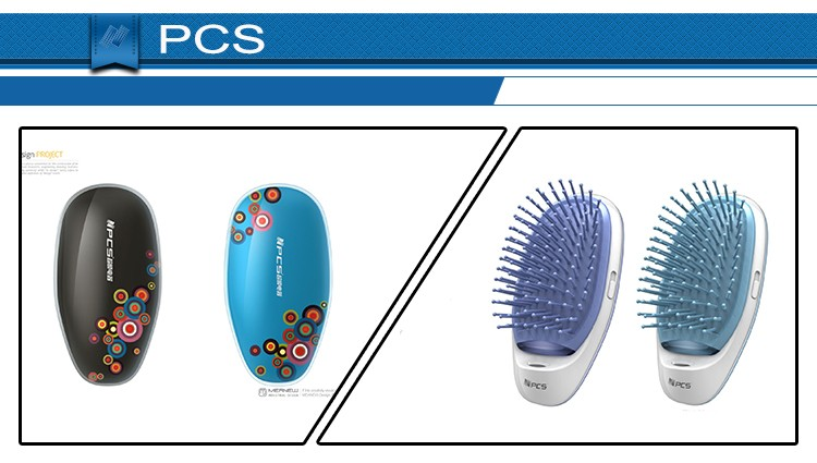 Newest 2016 Anti Static Hair Comb Electric Ion Hair Brush For Wholesales