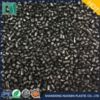 20% Carbon Black High Concentration Film Grade Black Plastic Masterbatches Food Grade Pure Polyethylene Film