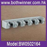 hanger rack , T0C005 position wall mount mop and broom holder,mop holder