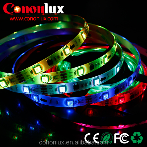 Outdoor lighting IP65 waterproof 30LED/M LED Strip Individual Addressable digital led light strip