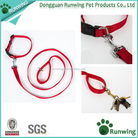 wholesale pet accessories, Padded Handle custom print logo Dog leash and collar