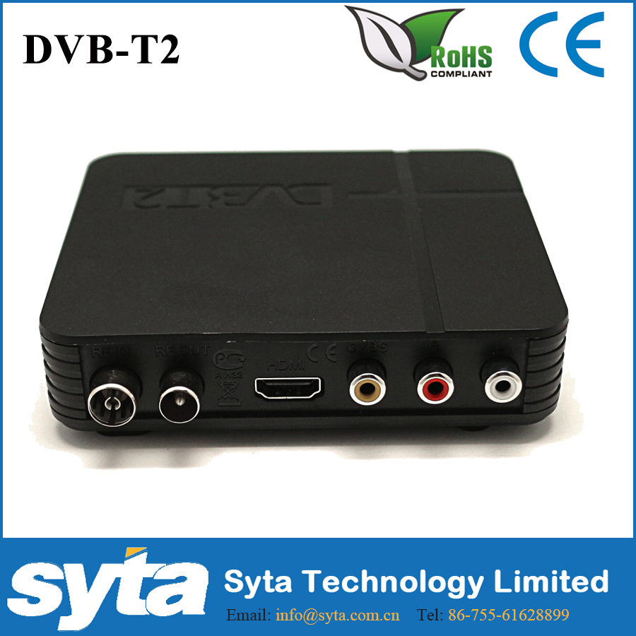 Syta MINI HD DVB-T2 STB 4K WiFi Satellite Receiver Digital TV HDTV S1023K2