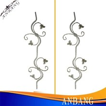 New Style Wrought Iron Rosettes/ Decorative Cast Iron Metal Parts With Fruits & Leaves