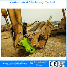 Excellent Design DONGYANG tilt rotating quick hitch for 1.5-45 ton excavator