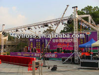 Easy to install and store lights space truss structure crane