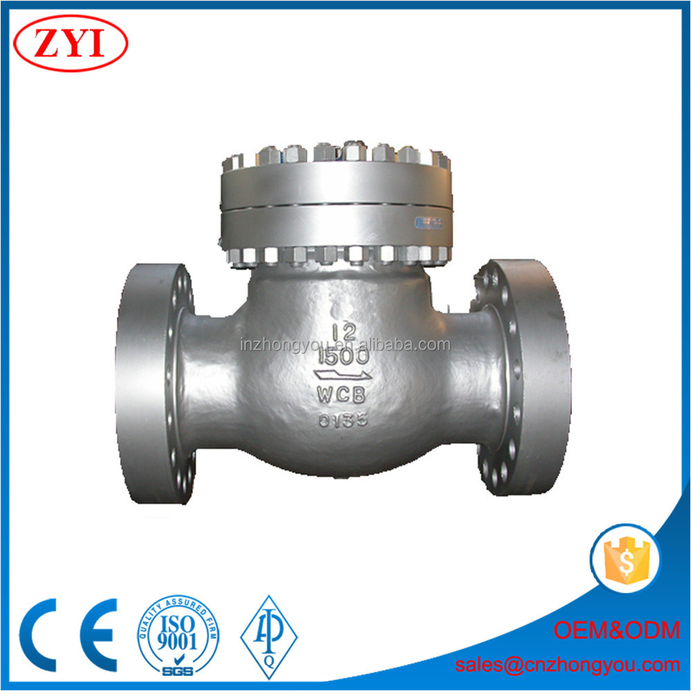 Wholesale horizontal installation oil and natural gas check valve