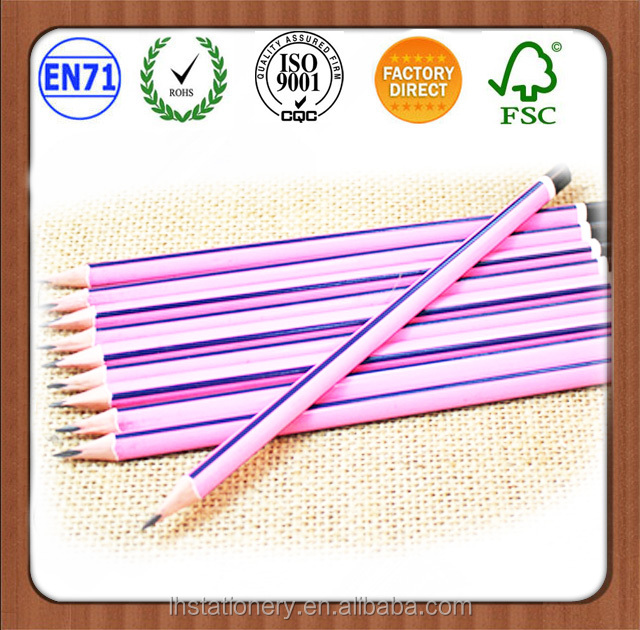 portable hot 7'' HB recycle newspaper pencil of CE Standard
