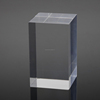 Thicker Clear Cast Acrylic Glass Sheet Block