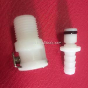 Quick Disconnect NPT Pipe Adapter Valved Fittings