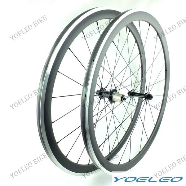 Light weight full carbon 700c road bike Alloy wheels/rims both 23mm and 25mm width with powerway hub <strong>R13</strong>